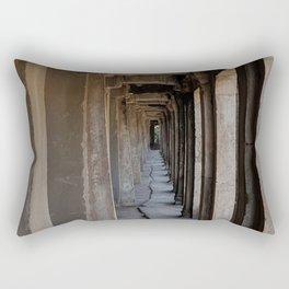 Angkor Wat archways Rectangular Pillow