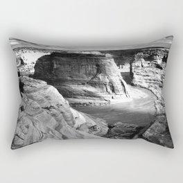 Vintage Landscape : Canyon de Chelly National Monument, Arizona Rectangular Pillow