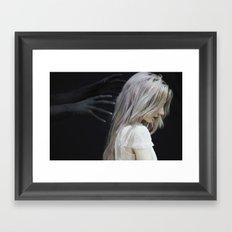 Fear Framed Art Print