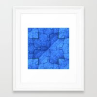 origami Framed Art Prints featuring Origami by Lyle Hatch