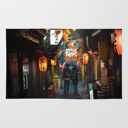 Omoide Yokocho, Shinjuku. Rug