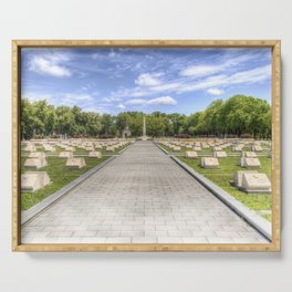 Russian War Graves Budapest Serving Tray