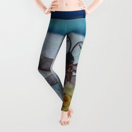 Dragonfly Love by Kathy Morton Stanion Leggings