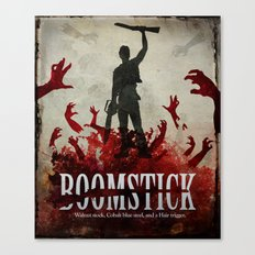 Boomstick Canvas Print