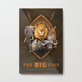 The Big Five Metal Print