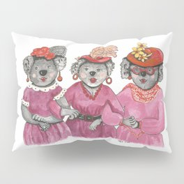 Red Hat Ladies off to Lunch Pillow Sham