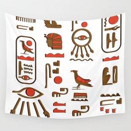 hieroglyph Wall Tapestry