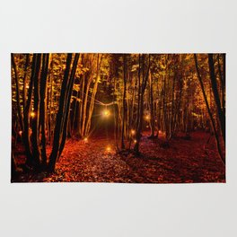 Electric Forest Disco Rug