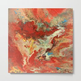 Abstract Oil Painting 2 Metal Print