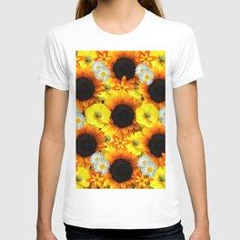 Sunflowers - Shades of yellow T-shirt