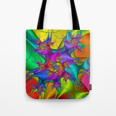 Explosion in a paint factory! Tote Bag