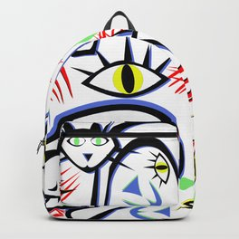 Cats Eyes by Lorloves Design Backpack