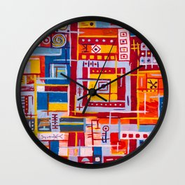 Art of memory Wall Clock