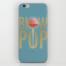 BLOW POP iPhone Skin