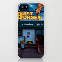 Best Burger iPhone Case