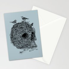 Skull Nest Stationery Cards