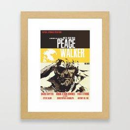 Peace Walker - Metal Gear Framed Art Print