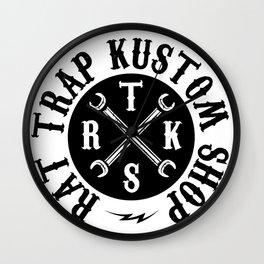 RAT TRAP KUSTOM SHOP Wall Clock