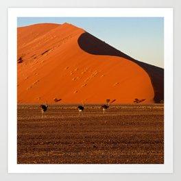 Big Daddy Dune at Sossusvlei, Namibia Art Print