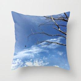 Bird as Prophet Throw Pillow