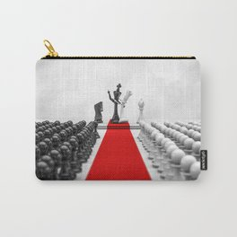 Wedding Chess / 3D render of checkmating ceremony Carry-All Pouch