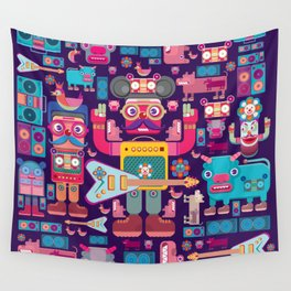 singpentinkhappy band Wall Tapestry