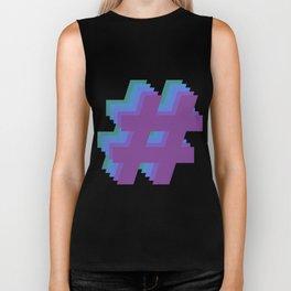 Hashtag Hashtag Hashtag - Colorway 4 Biker Tank