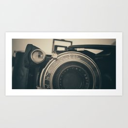 Old Agfa camera Art Print