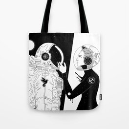 I Found a Space for Us Tote Bag