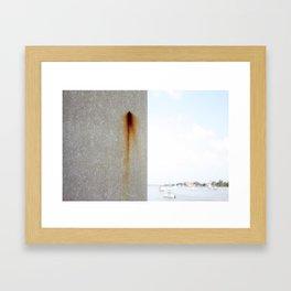 Concrete to confidence  Framed Art Print
