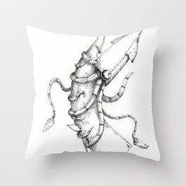 Man-Made Disaster: CLASSIFIED Throw Pillow