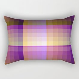 Complimentary Color Harmony ..Yellow /purple Rectangular Pillow