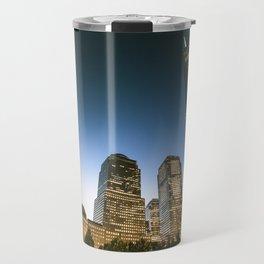 world trade center in nyc Travel Mug