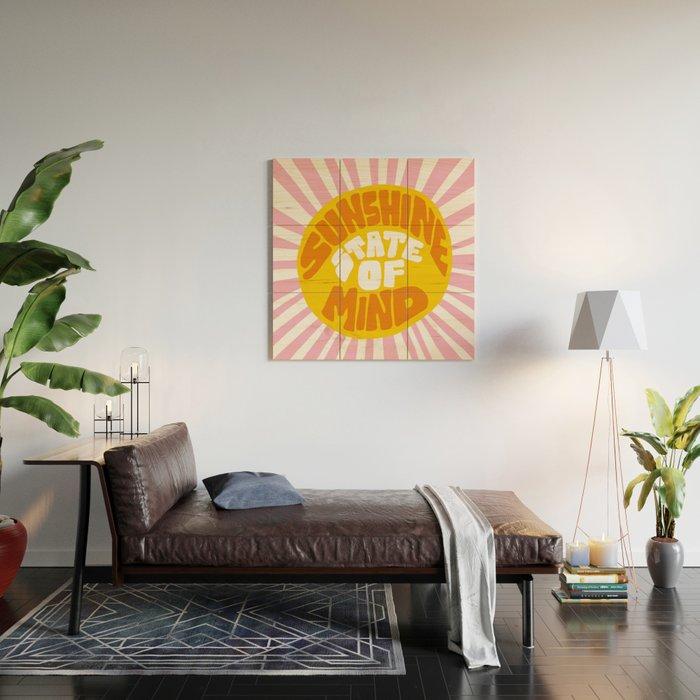 Sunshine Vibes Wood Wall Art