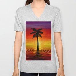 Palma Sea Unisex V-Neck