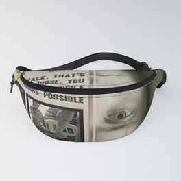 MR NOBODY Movie Poster Fanny Pack