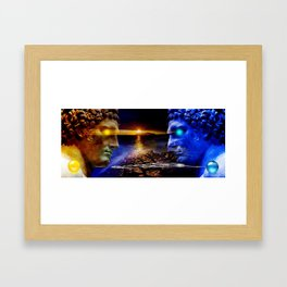 Roma e Cartagine Framed Art Print
