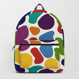 Rainbow Giraffe Splotches Backpack