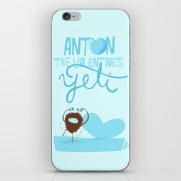 Anton, the Valentine´s Yeti iPhone Skin