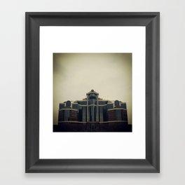 Ziggurat Framed Art Print