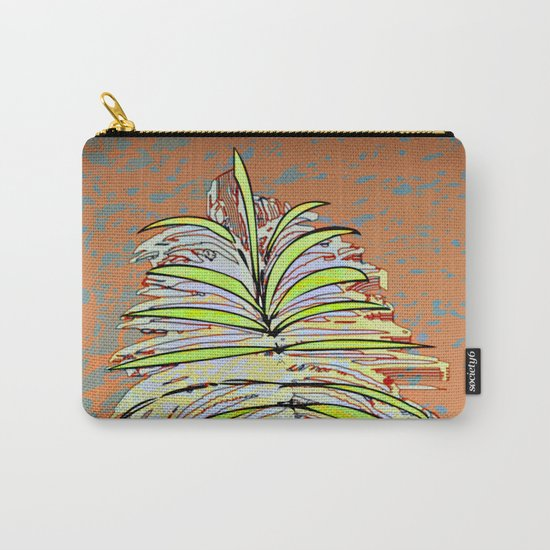 Palm Leaf Fosil / Nature 08-12-16 Carry-All Pouch