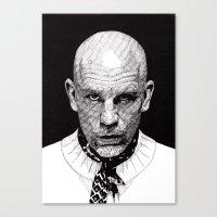 john snow Canvas Prints featuring John by Rik Reimert