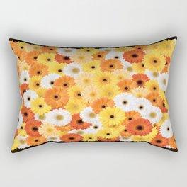 Covered in Gerberas Rectangular Pillow