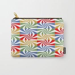 motif carré 5 Carry-All Pouch