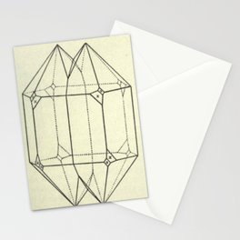 Geometric Crystals Stationery Cards