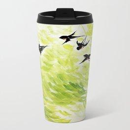 Six Swalows Travel Mug