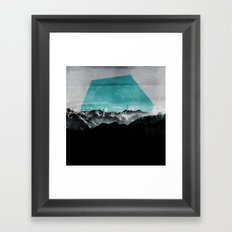 Mountains III Framed Art Print