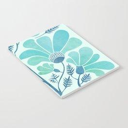 Himalayan Blue Poppies Notebook