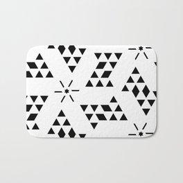 Triangle slide Pattern Bath Mat