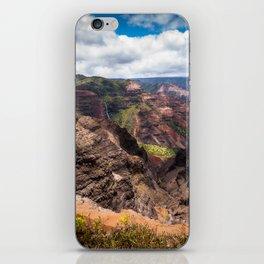 Waimea Canyon on Kauai, Hawaii iPhone Skin